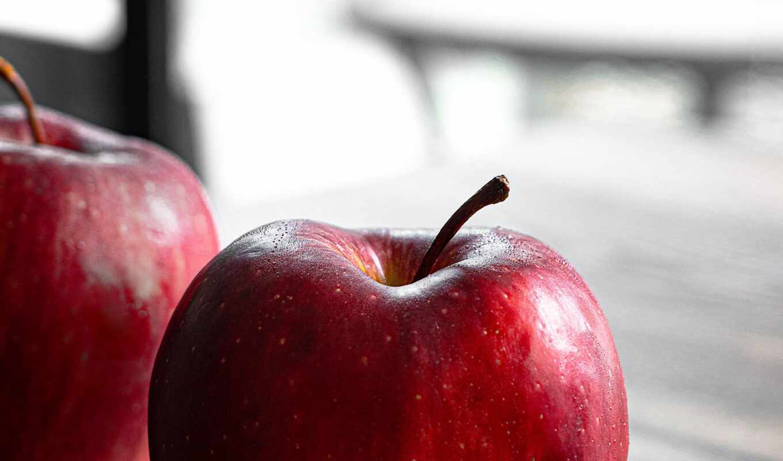 apple, плод, red, еда