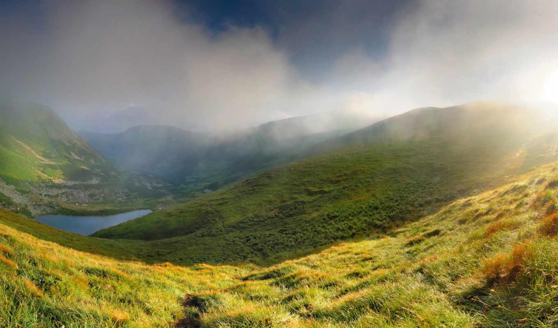 mountains, природа, widescreen, mountain, пейзажи, красивая, landscape,