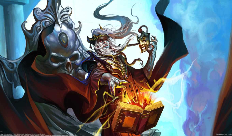 wizard, магия, маг, chen, маска, книга, wei,