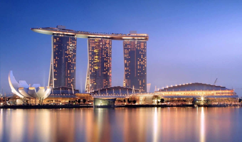 город, города, рассвет, hotel, architecture,