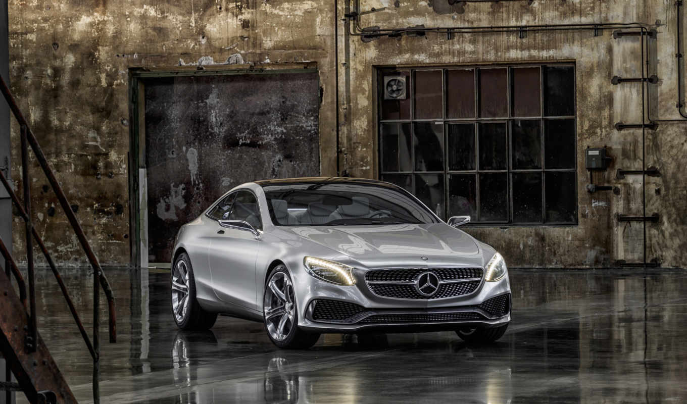 mercedes, benz, coupe, class,