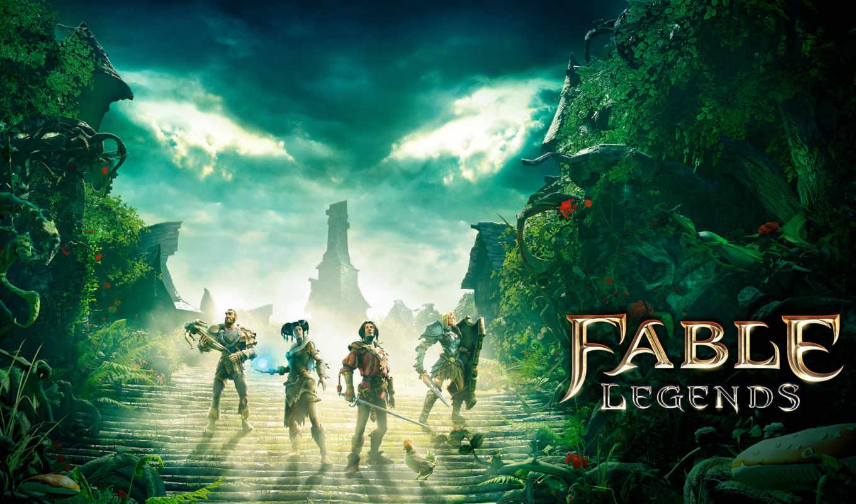 one, xbox, fable, legends, ролевой, windows, финальная, экшен,