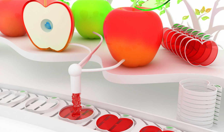 apples, making, apple, яблок, завод, machine, mac, desktop, смотрите,