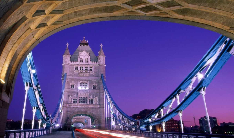 london, мост, башня, строения, лондона,