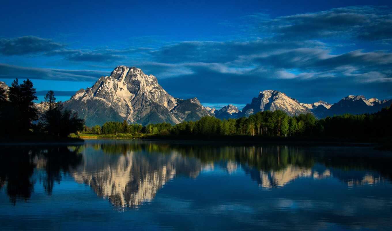 гора, national, park, озеро, природа, yosemite, лес, ноутбук, grand, пожаловаться