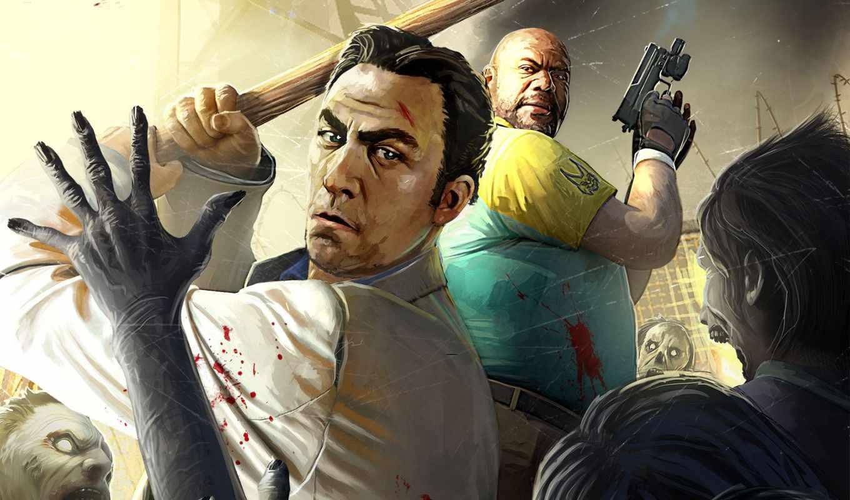 игры, dead, left, видео, games, game, компьютерные, картинка, ò³,