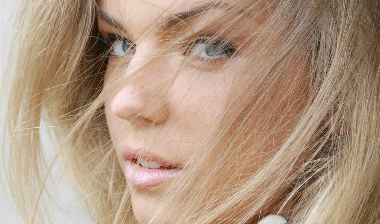 блондинка, девушка, девушки, взгляд,