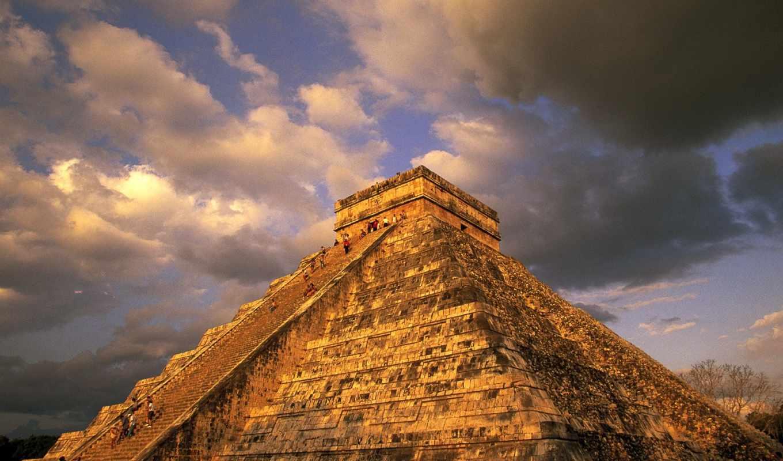 itzá, chichen, pirámide, los, del, itza, las,