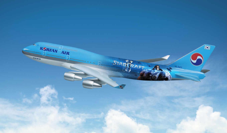 boeing, starcraft, полет, самолеты, аэрографии, самолёт, впервые, air, игры,