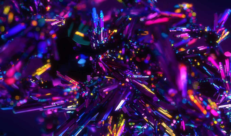 crystal, free, desktop, purple, crystals,