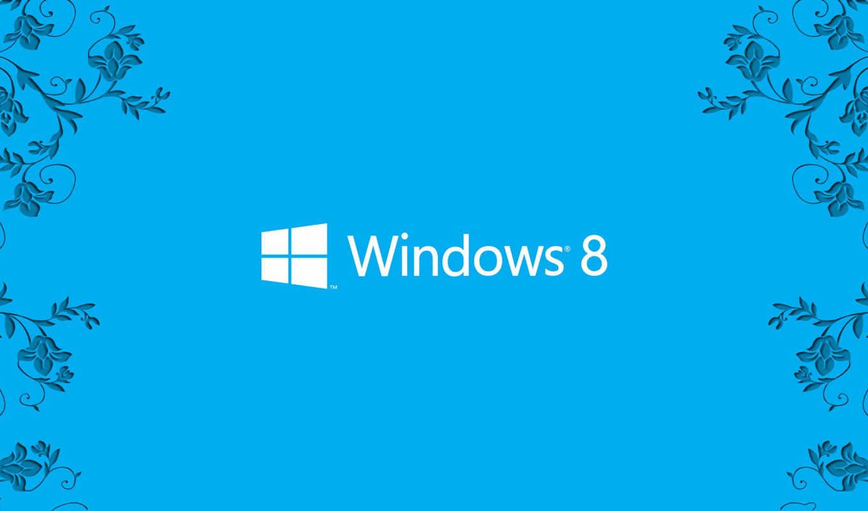 windows, eight, лого, узоры, синий