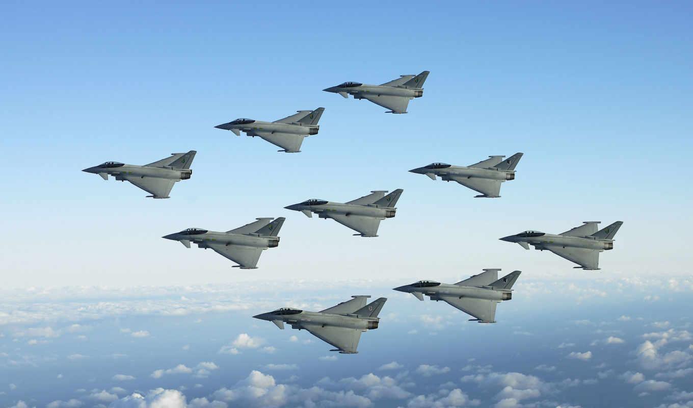 нато, самолеты, ук, военный, истребители, великобритании, вместе, итальянские, истребителя, миссию,