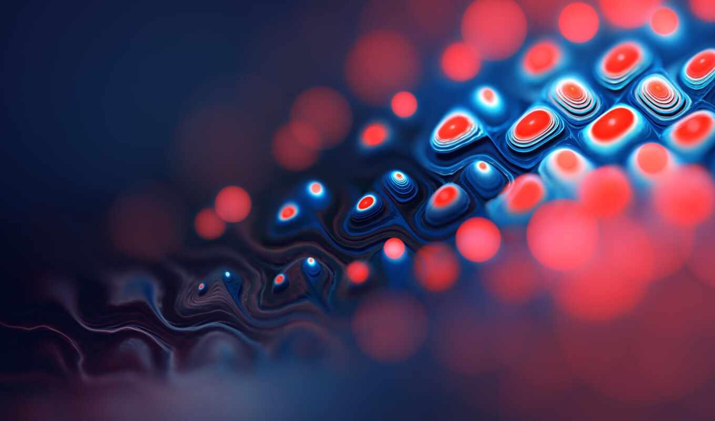 red, графика, blue, презентация, красивый, fractal, картинка, фон, сетка, тематика