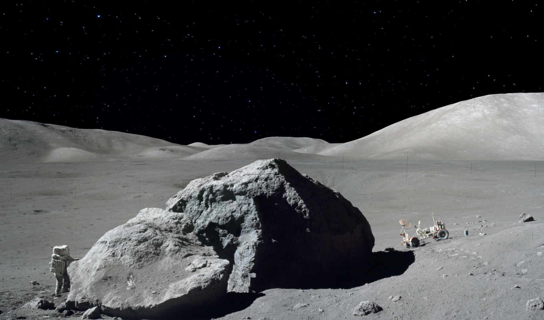 moon, nasa, apollo, астронавт, последний, луномобиль, space, снимки, walk, луну,