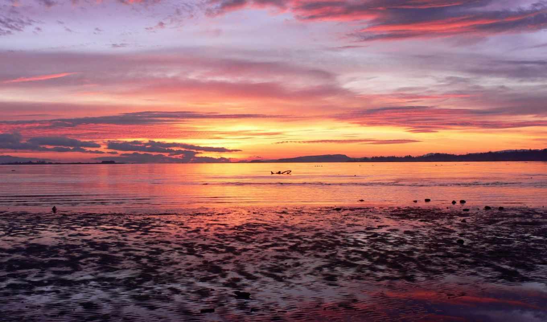 рассвет, море, нояб, самые, природа,