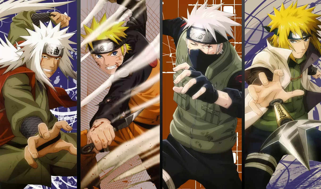 naruto, хокаге, kakashi, world, нов, minato,
