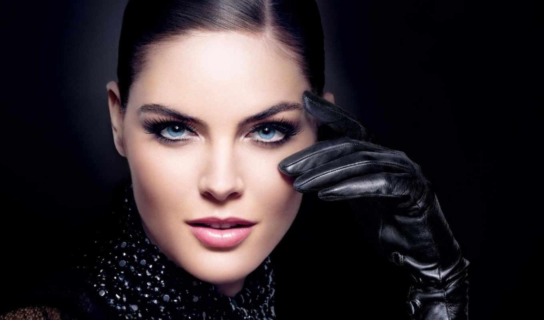 макияж, рука, модель, перчатка,
