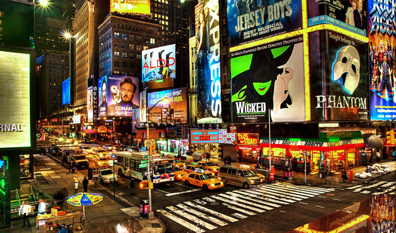 нью, york, new, город, neighborhood,