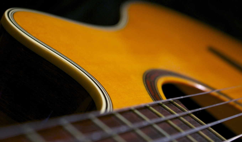 гитара, музыка, макро,