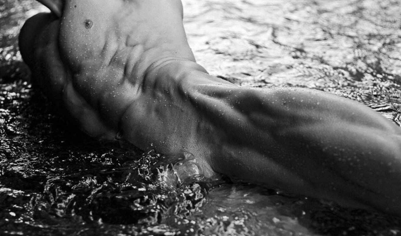 обои, тело, мужское, вода, фото, ню, тела, от, дев