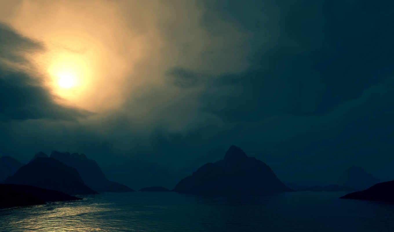 луны, свет, природа, hd, заставки, wallpaper, красивые,