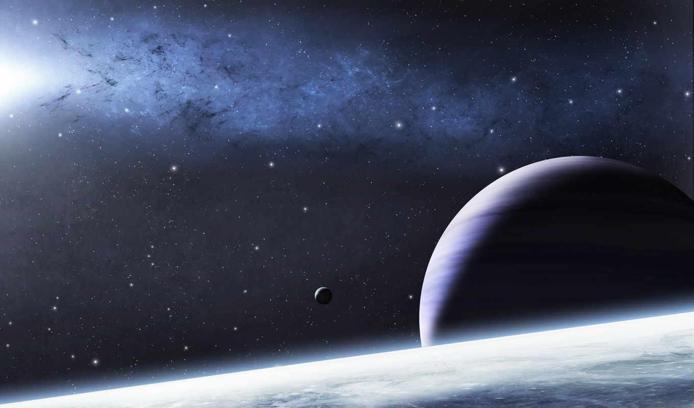 light, small, mysterious, illuminates, planets, nebula, nearby, pack,