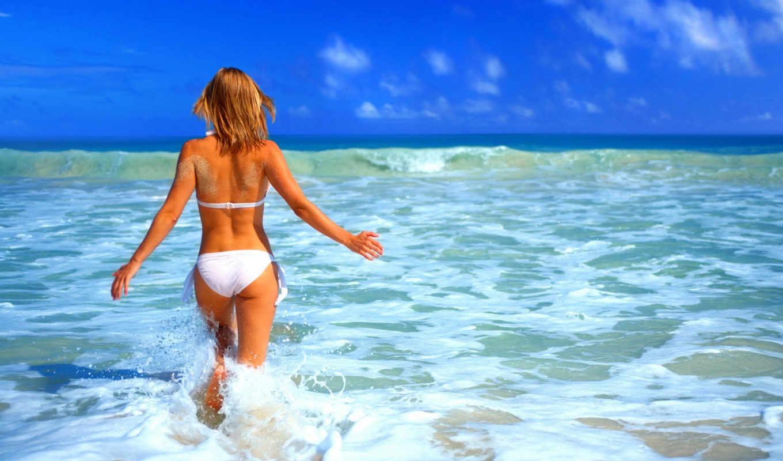 море, девушка, пена, попа, вода, summer, отдых, можно, costa,