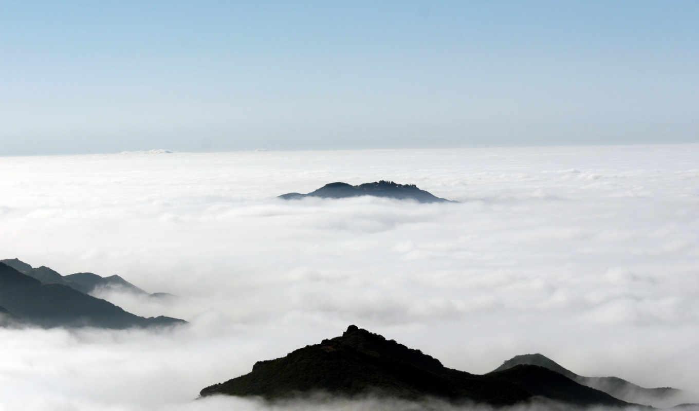 природа, обоев, солнце, wallpaper, clouds, небо, desktop, mountains, hd, to, nature, picsfab, природы, картинок, high, hill, fog, piercing, sea, море, фабрика,