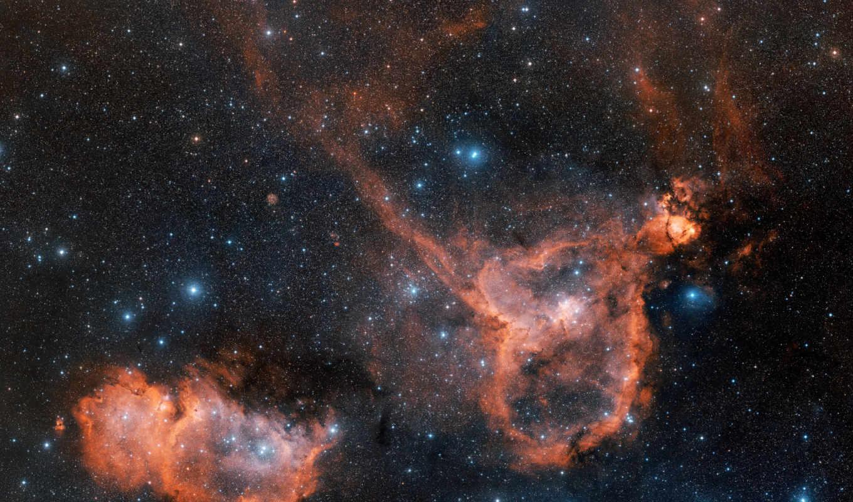 nebula, созвездие, orion, звезды, messier,