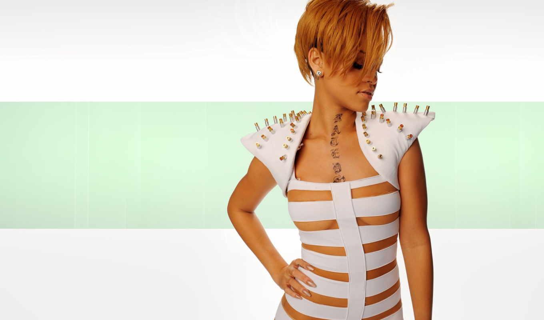 rihanna, singer, девушка, скачивайте, татуировка,