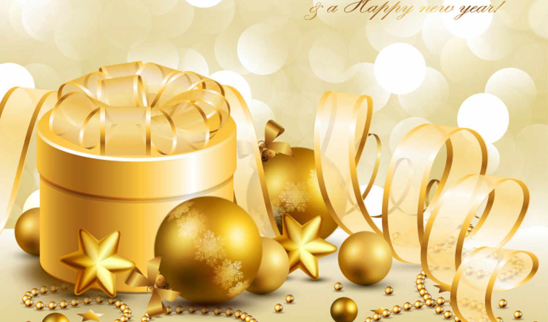 christmas, background, golden, navidad,