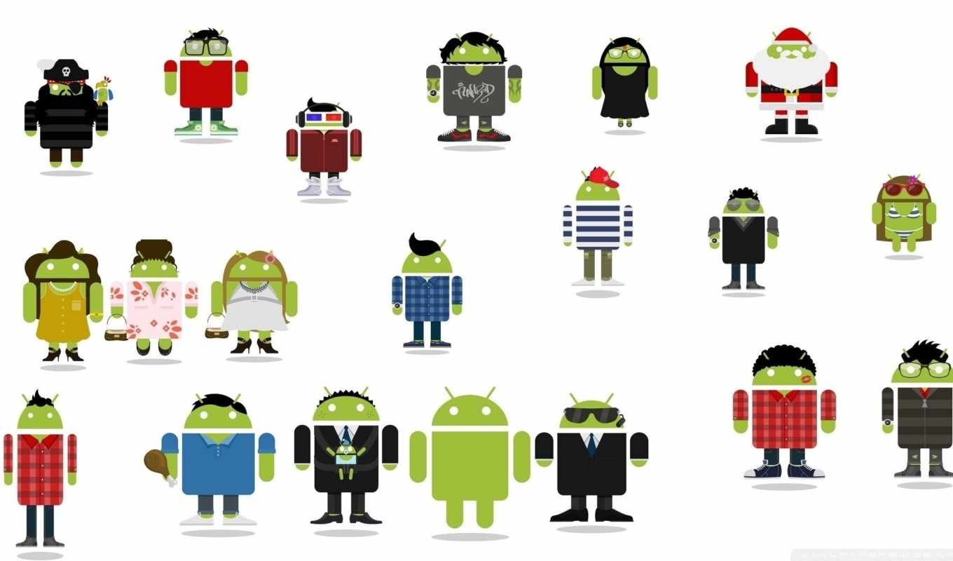 android, figures,