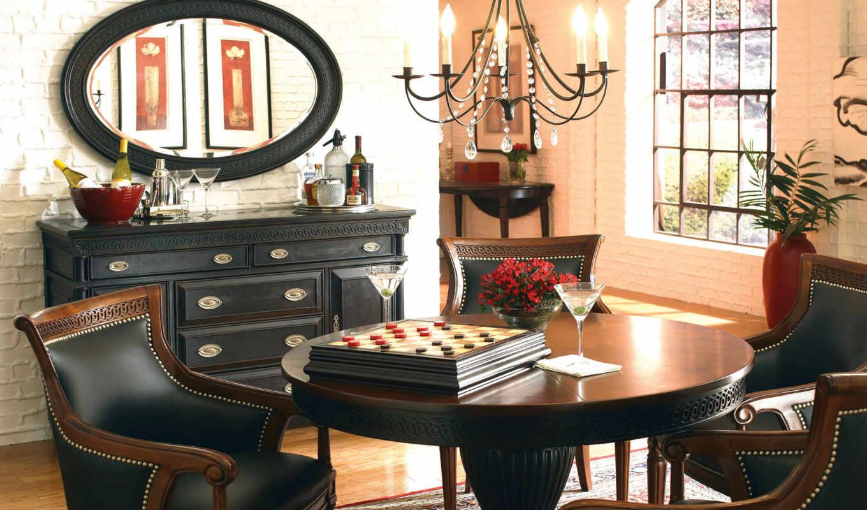 интерьер, мебель, гостиной, придает, тонов, интерьеру, темных, определенную, статусность, темной, респектабельная, гостиная, интерьере,