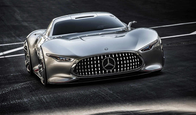mercedes, car, cars, concept, amg, gran, vision, new,