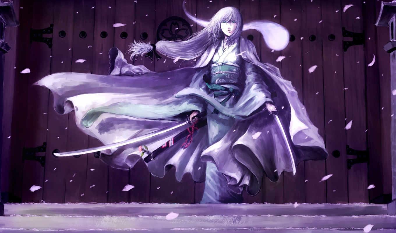 konpaku, youmu, touhou, меч, девушка, оружие, кимоно, hair, japanese, аниме, эротику, picsfab, показывать, фабрика, painter, chama,