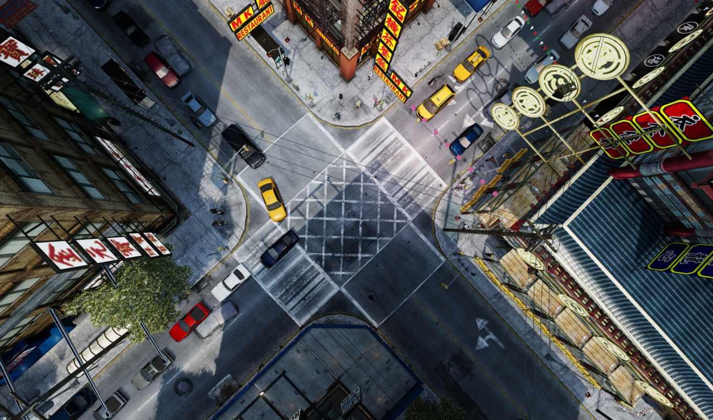 gta, crossroad, совершенно, свой, quarter, китаянка,