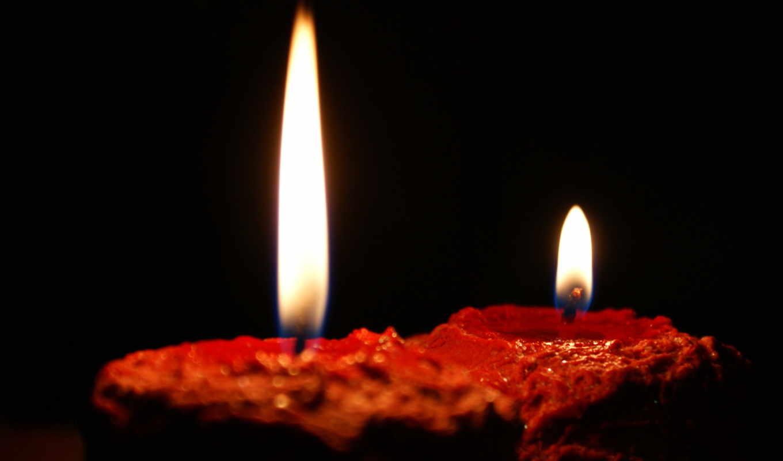 свечи, огонь, часть, разные, темы, preview, романтика,