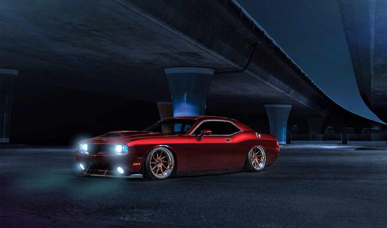 dodge, challenger, muscle, cars, американский, car, avant,