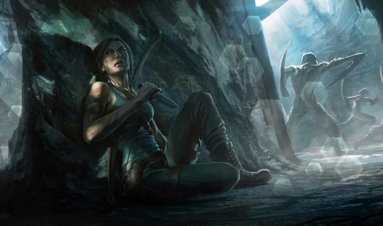 raider, tomb, лара, croft, game