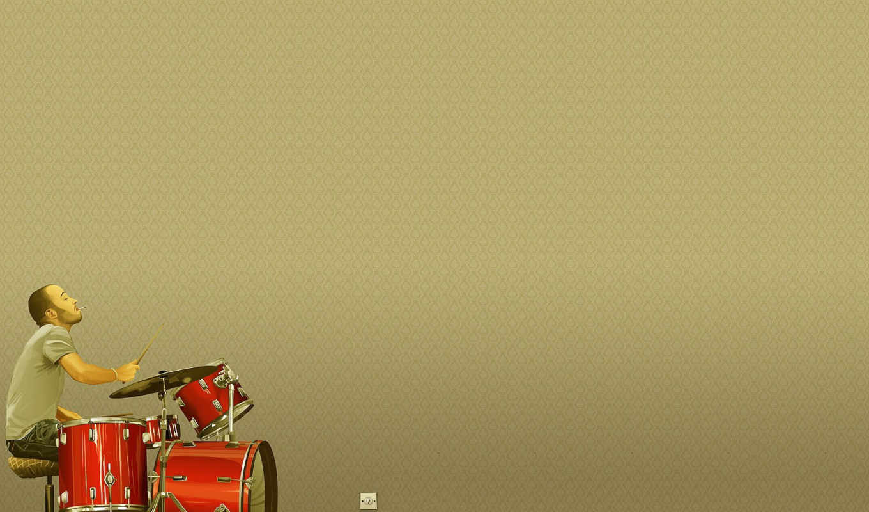 art, desktop, вектор, приколы, минимализм, bilder, барабанщик,