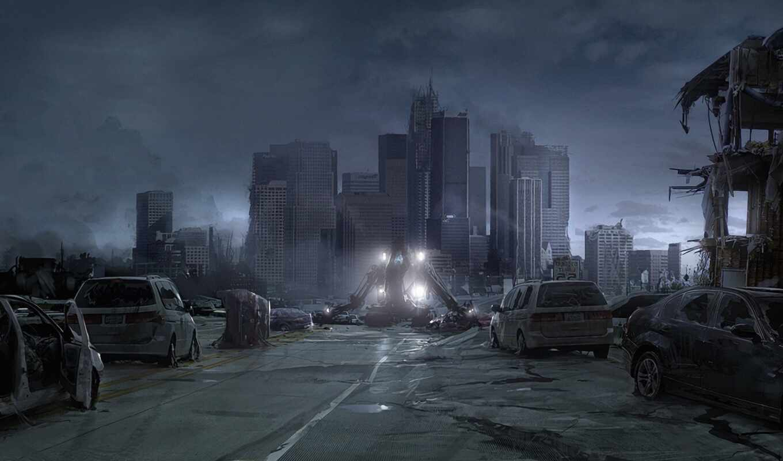 war, worlds, cities, city, desktop, this, you, разрушен, запустение, world, download, робот, будущее, катастрофа, architecture,