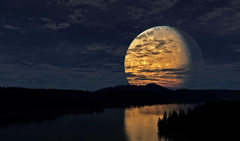 luna, большая,
