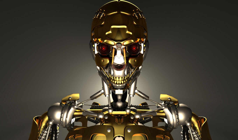 cyborg, robot, канал, марта, металл, изображение, million, than, стоковых, скачивайте,