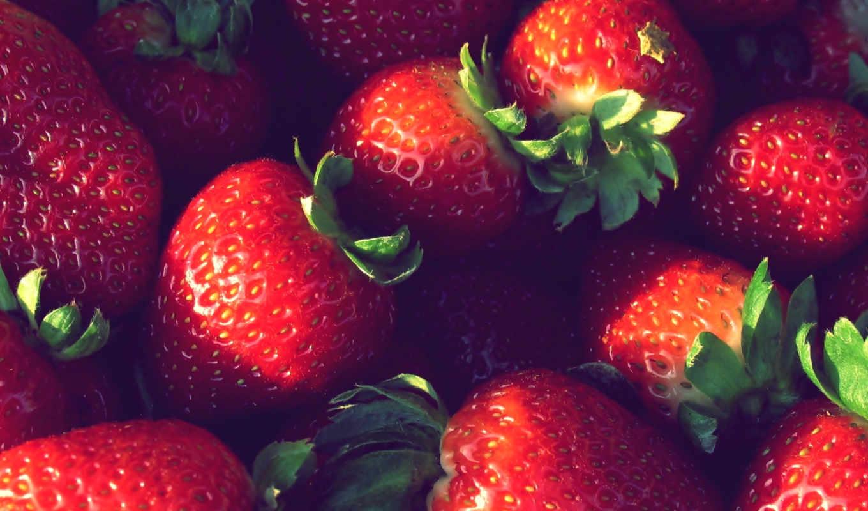 , ягоды, макро, еда, клубника, разное, красивые,