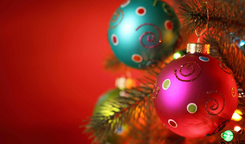 год, new, праздники, дерево, christmas, шарики,
