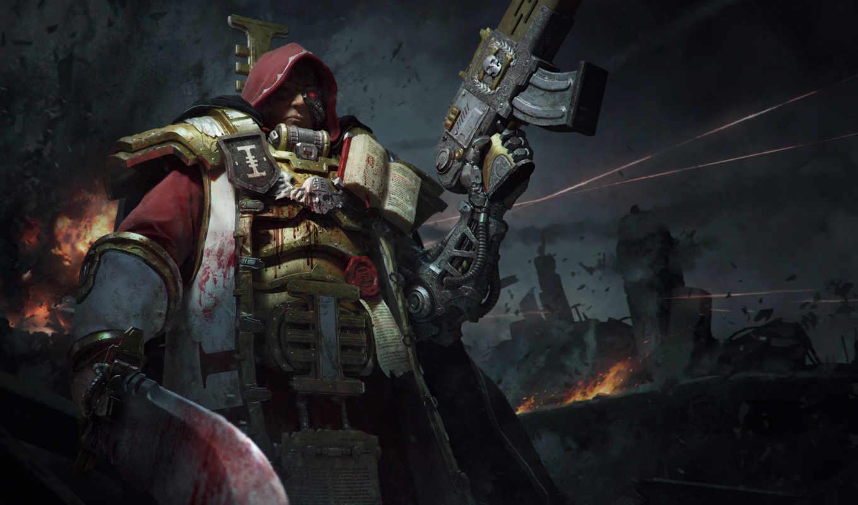 warhammer, инквизиция, инквизиции, оружие,