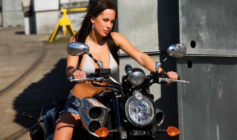 девушки, мотоциклы, девушка, байке, красивые,