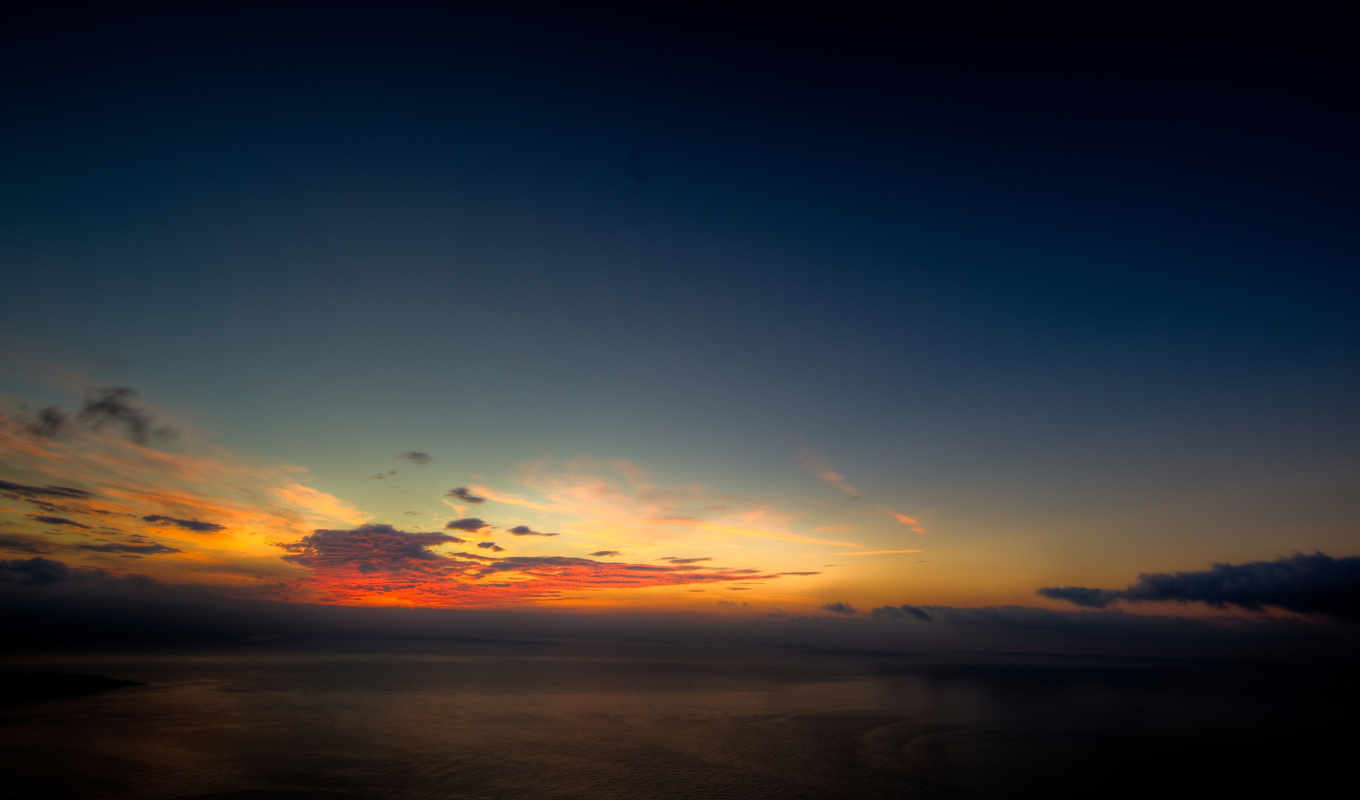 sunset, clouds, nature, sunsets, ocean, nice,