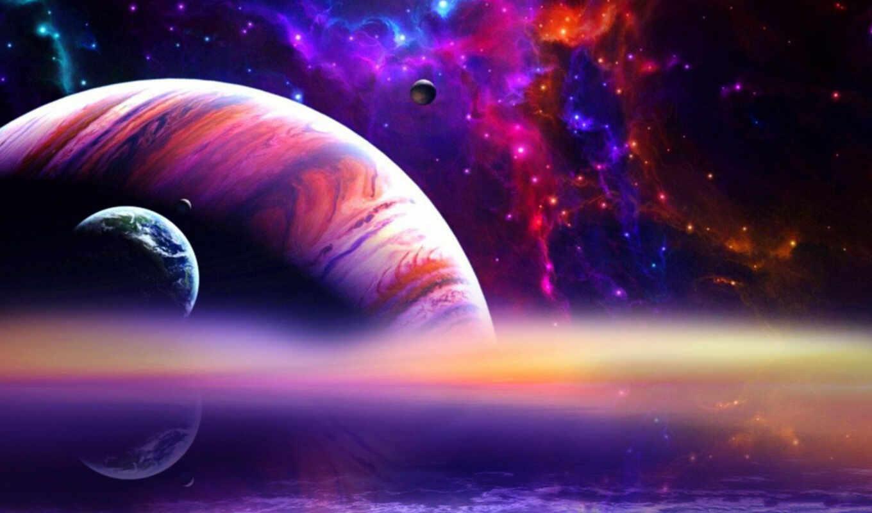 космос, планеты, звезды, поверхность, ландшафт, горы, гигант, газовый, planets, картинка, арт, код, outer, картинку, дата,