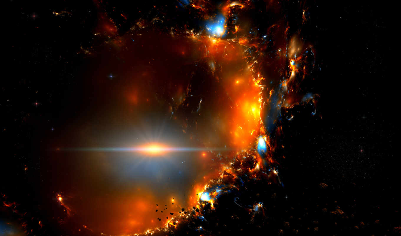 метеориты, вспышка, рызрыв, звезды, space,